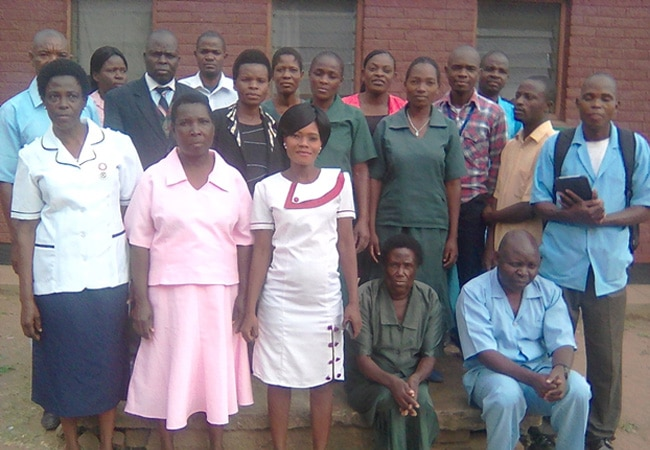 Ulongwe Health Centre Staff